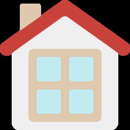 家 一戸建て のフラットデザインアイコン Iconlab アイコンラボ