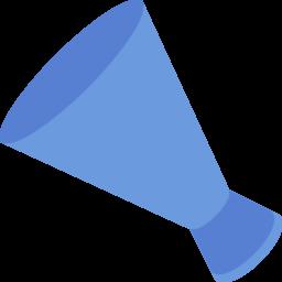 メガホンのフラットデザインアイコン Iconlab アイコンラボ